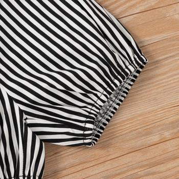 Maluch dziewczyna ubrania dziewczynek bawełniane paski kombinezony wzburzyć ubrania łuk trzyczęściowy garnitur nowonarodzone dzieci odzież tanie i dobre opinie COTTON CN (pochodzenie) Lato dla dziewczynek W wieku 0-6m 7-12m 13-24m 25-36m 3-6y 7-12y 12 + y W paski Z okrągłym kołnierzykiem
