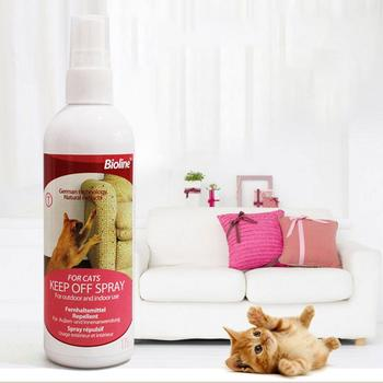 Cat Scratch Deterrent Spray Natural No Stimulation To Effectively Stop Cats From Scratching Furniture 175ml Cat Products For Pet