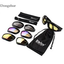 Daisy C5 Tactical Army Goggles Men Military Sunglasses Glass