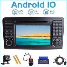 ZLTOOPAI Auto Radio GPS Android10 Für Mercedes Benz GL ML KLASSE W164 X164 ML350 ML450ML500 GL320 GL450 Auto Multimedia player