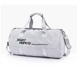 Image 2 - Bolsa de deporte impermeable para hombre y mujer, mochila de separación en húmedo seco para ejercicio de pelota, entrenamiento de baile, gimnasio, Fitness