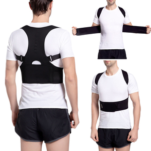 Men Adjustable Posture Hump Corrector Breathable Shoulder Lumbar Support Brace shaper
