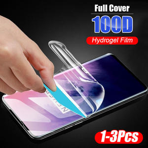 Hydrogel-Film Screen-Protector Curved-Edge Oneplus Full-Protective-Film Not-Glass 100D