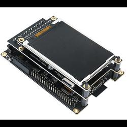 ESP32-S2-Kaluga-1 Placa de desarrollo Wi-Fi de 2,4 GHz, adquisición de imágenes, reproducción de Audio con pantalla táctil LCD