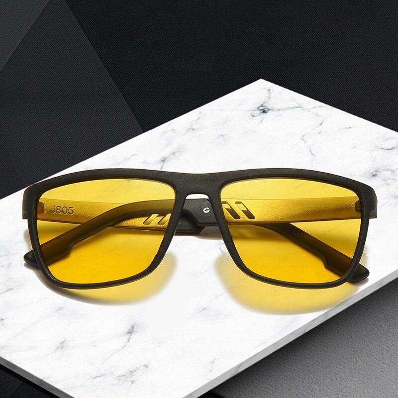 TR90 Night Vision Driving Glasses Polarized Driving Sunglasses Men Women Anti-glare UV Driver Super Light Goggles Gafas UV400