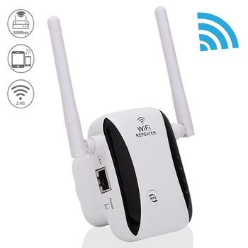 KP300 New 300Mbps WiFi Repeater Range Extender Booster With free Plug Antennas 1
