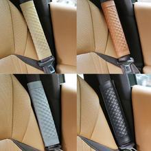 2 шт. Автомобильные Защитные ремни безопасности ремни Ремни безопасности плечевой ремень Подушка Чехол на плечо подходит для BMW Ford Passat Honda Audi