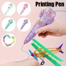 BENTOBEN 3D stylo Original bricolage 3D stylo d'impression avec Filament ABS jouet créatif cadeau d'anniversaire pour enfants conception dessin