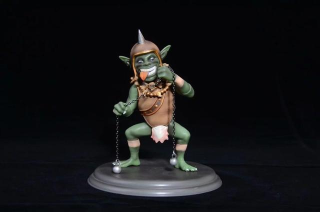 Native FROG Farnellis Goblin sexy Action Figure PVC Collection Model toys brinquedos for christmas gift