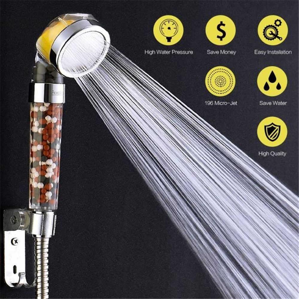 Lemon Vitamin Filter Fragrance SPA High Pressure Shower Head Scent Saving Water