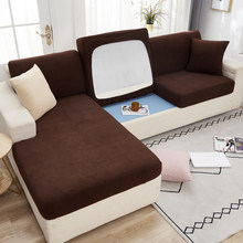 Диван-подушка для сидения стула крышка животных Детские Протектор мебели из Полар-флиса стрейч моющиеся съемный чехол для мебели 1/2/3/4 сиден...