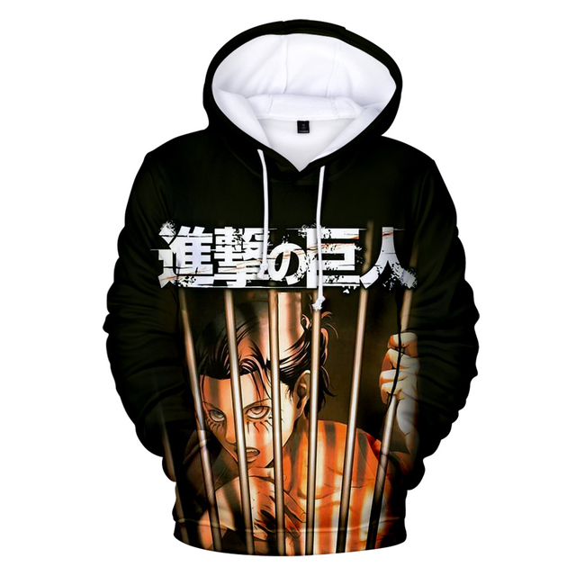 ATTACK ON TITAN THEMED 3D HOODIE (10 VARIAN)