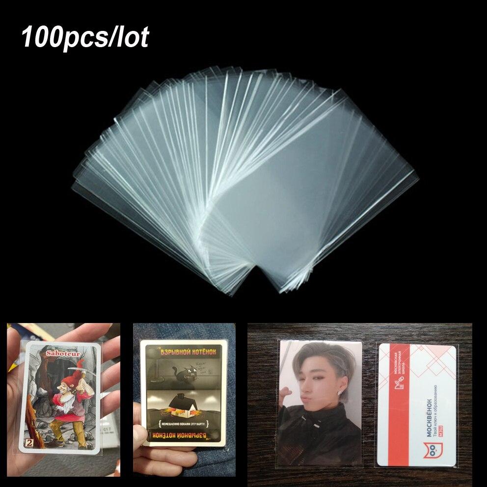 100 шт. рукава для карт Волшебная настольная игра Таро три царства покерные карты защита для ATEEZ Stray kids bangtan boys NCT Фотокарта