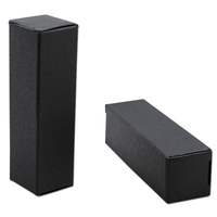 DHL 2*2*7.1cm 1500Pcs/ Lot Black Kraft Paper Box For Lipstick Perfume Cosmetic Small Mascara Bottle Gift Event Craft Paper Boxes