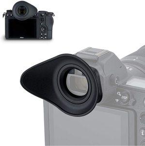 Image 2 - JJC Soft Eyecup Eyepiece Viewfinder Eyeshade for Nikon Z7 Z6 Z5 Z6II Z7II Camera Eye Cup Replaces DK 29 360 Degree Rotatable ABS