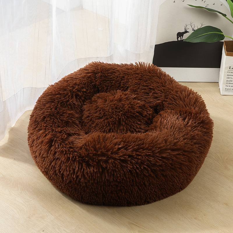 Winter Long Velvet Cat Nest Online Celebrity Circle Cat Nest Kennel Sleep Nest Pad Mattress Seasonal