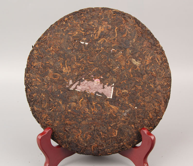 Chinese Yunnan Oldest Ripe Old Class Ancient Tree Detoxification Pu-Erh Tea Cake 357g