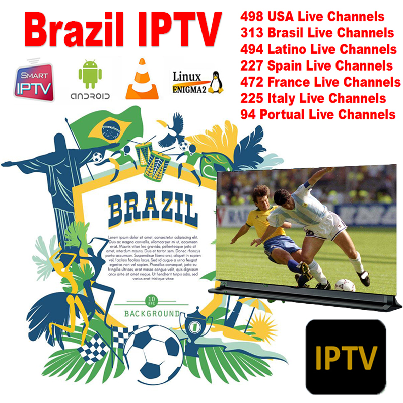 Worldwide delivery iptv box 4k brasil in Adapter Of NaBaRa