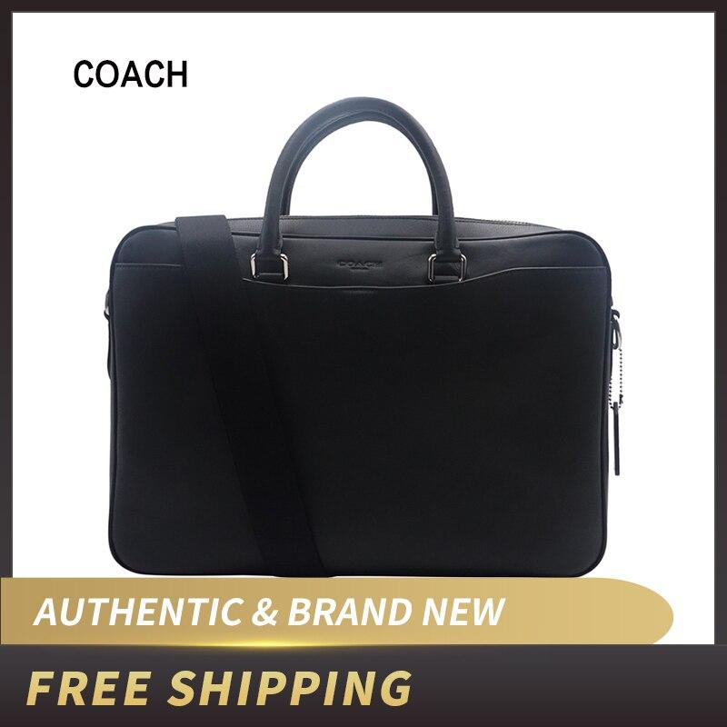 """Authentic Original & Brand New   Coach F72979/F68030 Beckett Portfolio Brief Leather Bag"""