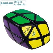 LanLan Rhombus Skewbed Magic Cube Diamond Oblique Cubo Magico Professional Neo Speed Puzzle Antistress Fidget Educational Toys yongjun diamond symbol 3x3x3 magic cube yj 3x3 professional neo speed puzzle antistress fidget educational toys for children