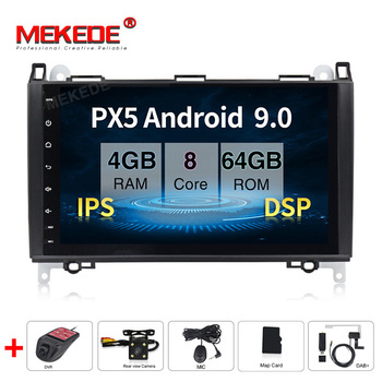 IPS DSP Android 9.0 4G 8 Core Car GPS for Benz Sprinter B200 W209 W169 W169 W245 B170 Vito W639 DVD PLAYER stereo radio audio
