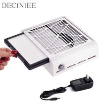 40 واط جديد قوة قوية آلة تنظيف الأظافر مسمار مروحة الفن صالون شفط ماكينة جمع الغبار مكنسة كهربائية