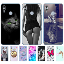soft silicone case For for huawei honor 10 lite cases 6.21 inch soft tpu phone back cover for honor 10 lite Coque Etui full 360