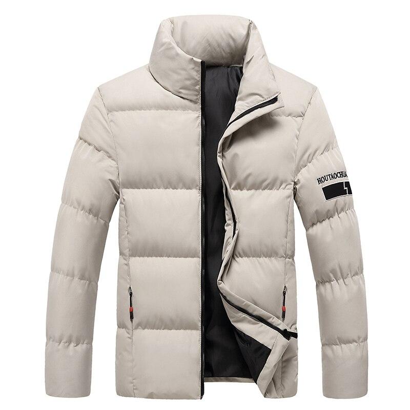2020 куртки, парки, Мужская теплая верхняя одежда, брендовые тонкие мужские пальто, Повседневная ветровка, стеганые куртки, Мужская M-5XL куртка-...