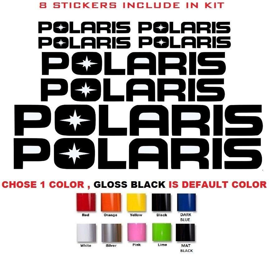 Para polaris rzr 800 850 1000 570 desportista xp quad adesivos decalques