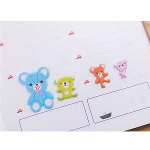 Image 5 - 40Packs/Lot Kinderen Cartoon Cartoon Koreaanse Leuke 3D Drie Dimensionale Bubble Stickers Vier Selectie Voor Geschenken