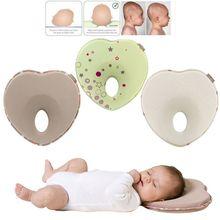 Pillow Infant-Support Newborn Crib Neck-Prevent Flat-Head Anti-Roll Baby