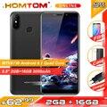 "HOMTOM C2 5 5 ""18:9 HD + 4G Smartphone Android 8.1 Quad Core 2GB RAM 16GB ROM Gesicht ID 3000mAh Handy-in Handys aus Handys & Telekommunikation bei"
