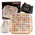 Бутик SUDOKU интенсивная тренировочная игра высокое качество дерево Детская образовательная 3D головоломка игрушки Sudoku настольные игры взрос...