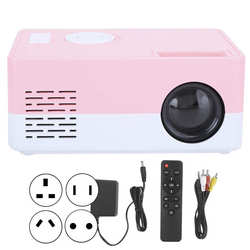 Projector Screen 1080p High Definition LED Portable Projector Smart Home Theater Cinema White Pink 100 TO 240V projeksiyon