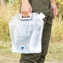 Car-Drinking-Carrier Storage-Container Collapsible Water-Bags Folding BBQ Hiking Picnic