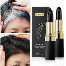 Яркая ручка для волос, краска для волос, линия волос, мгновенное заполнение седых корней, краска для волос, модифицирующая кремовая палочка, ...