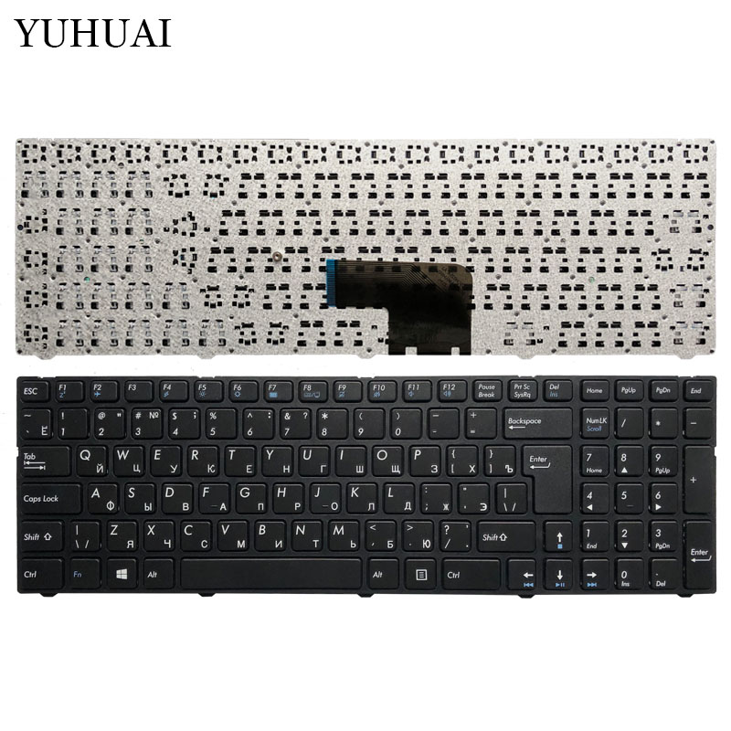 New Russian Keyboard For DNS Pegatron C15 C15A C15E PG-C15M C17A DEXP V150062AS4 0KN0-CN4RU12 MP-13A83SU-5283 Laptop RU Keyboard