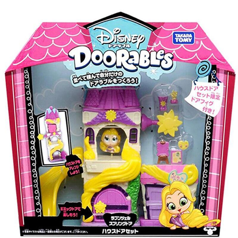 Disney Doorables Frozen Elsa Olal Mickey Minnie Judy Pinocchio Rapunzel Alice Snow White Belle Princess Blind Box Girl Kids Toys 14