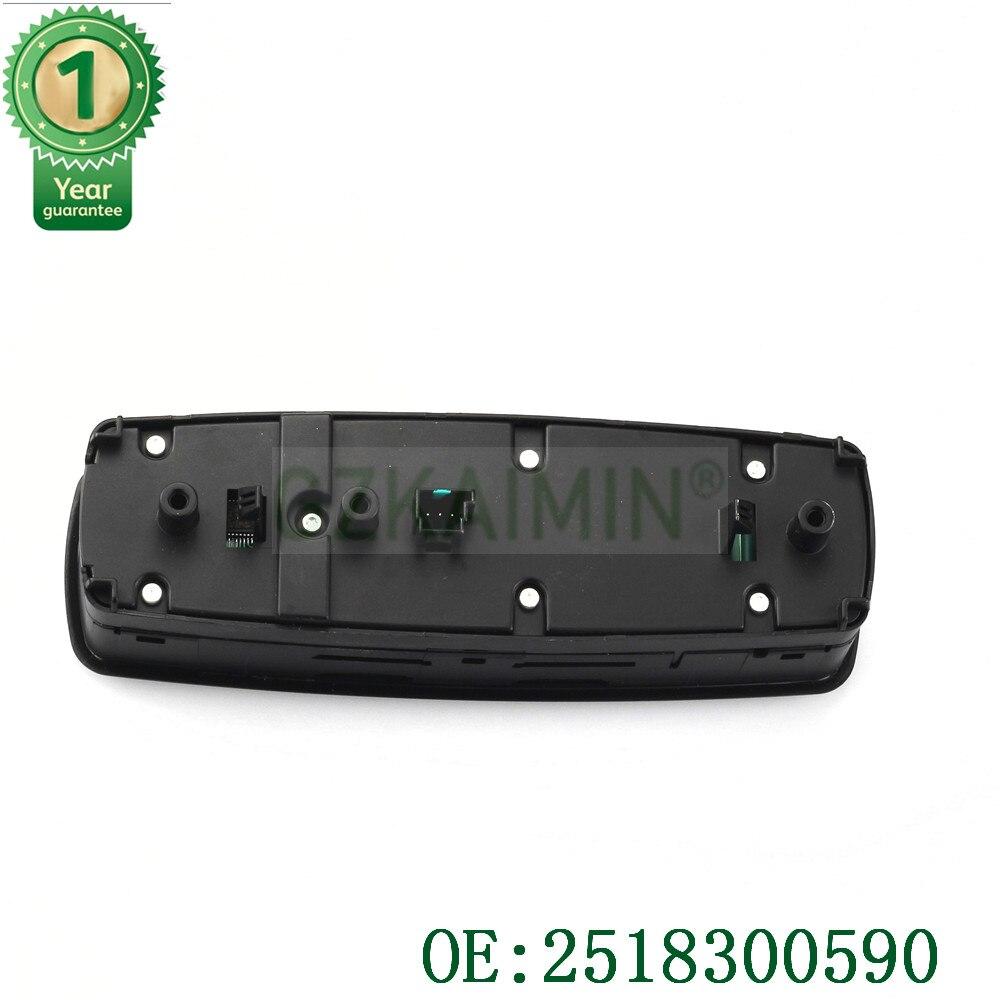 TOP qualité tout nouveau 2518300590 fenêtre interrupteur principal pour Mercedes GL R classe ML350 W251 X164 GL450 R350 No. A251 830 - 4