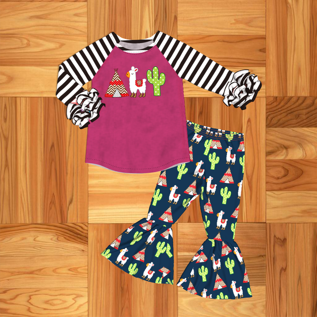 Baby Girl Suit Clothes Newborn Infant Sets Baby Girls Clothes Outfit Clothes Autumn Spring Toddler set Children Outfits Cactus