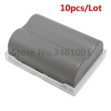 Lot de 10 batteries EN-EL3e EN EL3e, 10 pièces/lot, pour appareil photo Nikon D300S, D300, D100, D200, D700, D70S, D80, D90