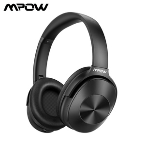 Image 1 - Mpow H12 Bluetooth ANC Headphone Active Noise Canceling Wireless Headphones Wired Headset With HiFi Sound Deep Bass 30H Playtime