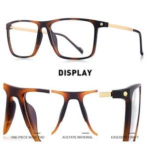 Image 2 - MERRYS تصميم الرجال الفاخرة TR90 إطار نظارات الرجال Vintage قصر النظر وصفة طبية النظارات S2817