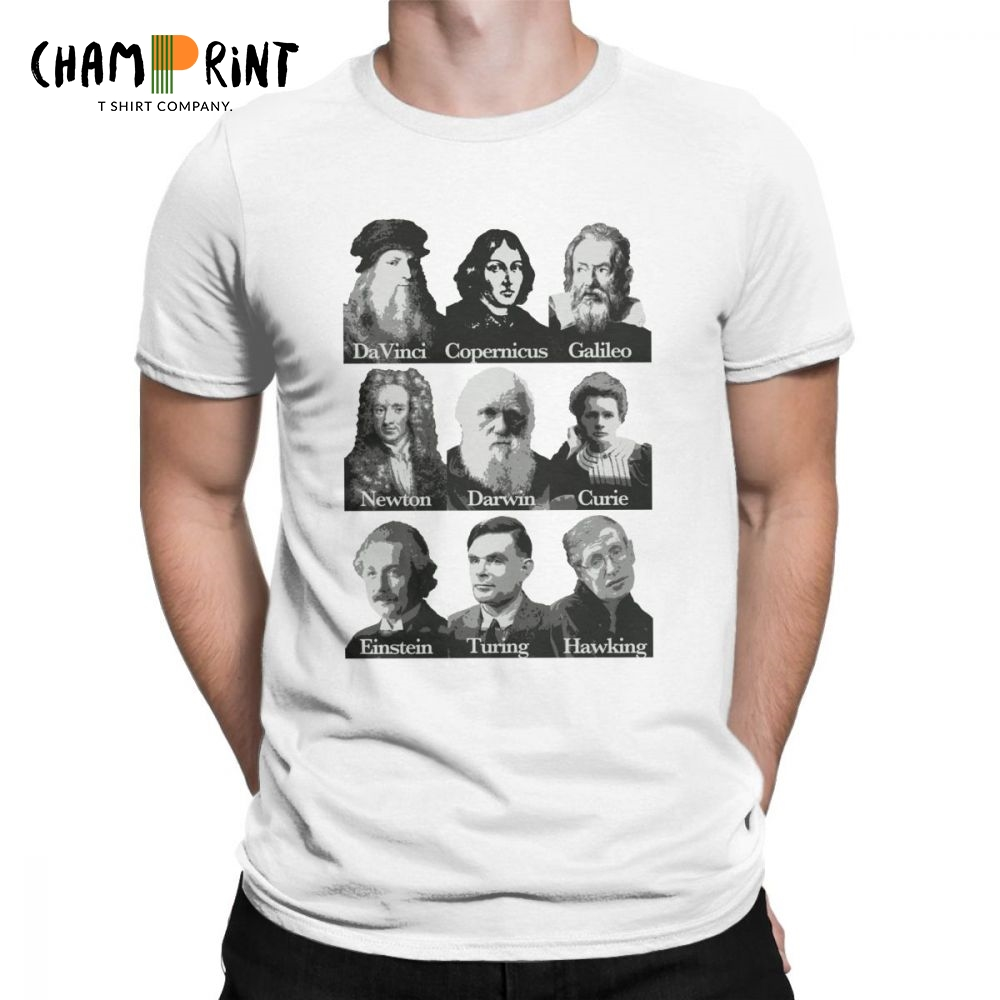 La scienza-Einstein-FERRO su T-shirt stampa trasferimento