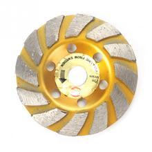 Каменные инструменты 4 дюйма 1200rmp Алмазное Колесо 100 мм Алмазное шлифовальное колесо отрезной диск бетонный камень
