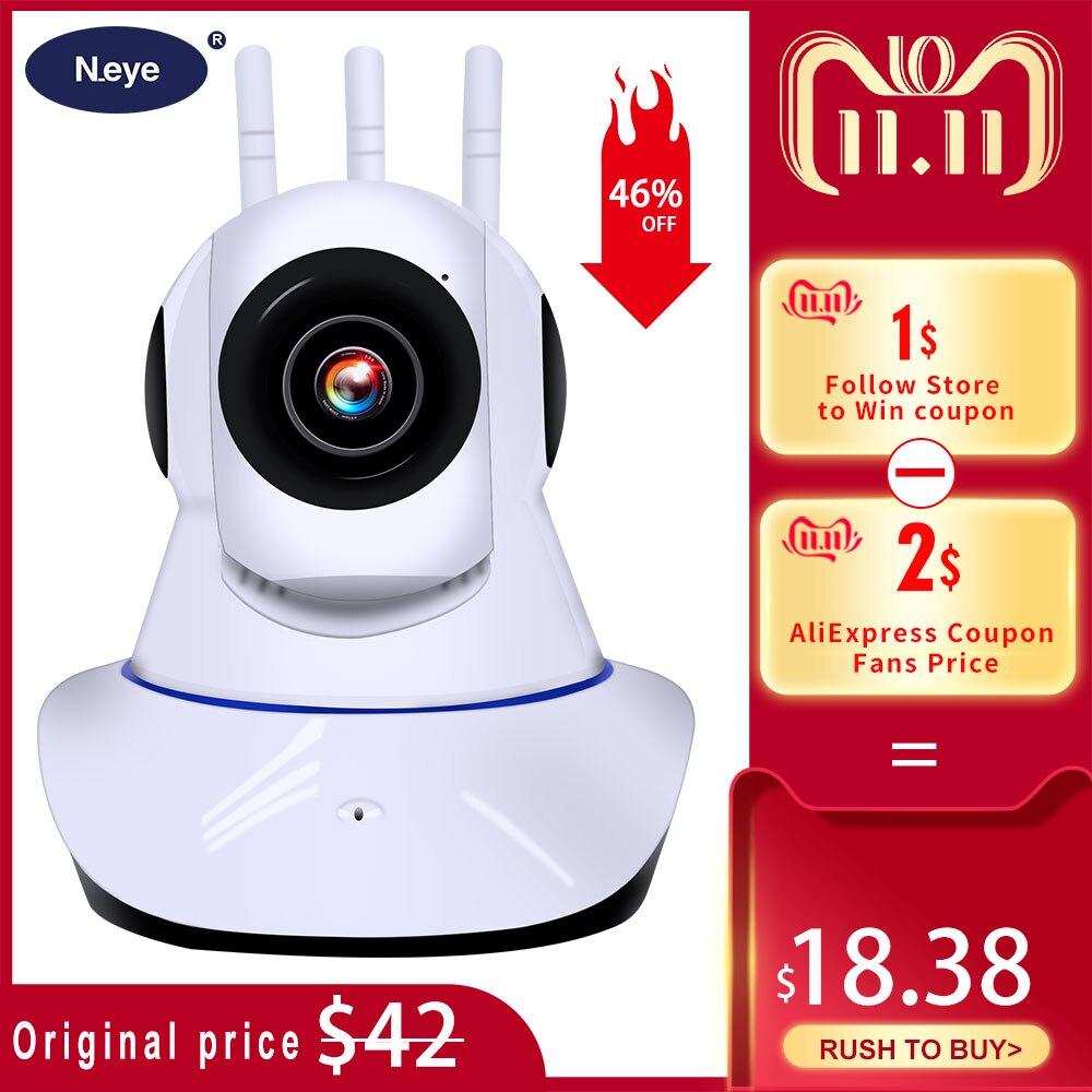 N_eye câmera ip 1080 p 3mp inteligente dome câmera ip telefone controle remoto gravação de vídeo em casa ip sem fio câmera de segurança q8