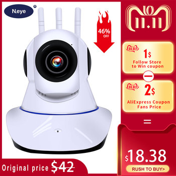 N_eye IP Kamera 1080P 3MP Smart Dome IP Kamera Telefon Fernbedienung Video Rekord Hause Wireless IP Security Kamera q8