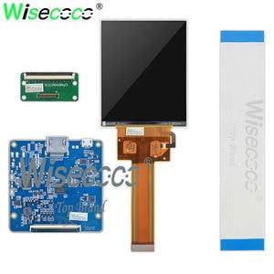 Image 2 - Voor Hdm Vr Ar Display 3.4 Inch Ips 1440*1770 90Hz 60 Pins Lcd scherm Met Mipi 60 pins Hdmi Micro Usb Interface