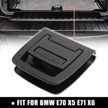 X autohaux preto traseiro tronco do carro cauda placa inferior esteira piso tapete lidar com 9120283 51479120283 para bmw e70 x5 e71 x6 2006 2013