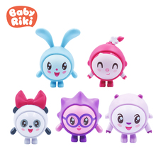 5Pcs/set Original Baby Riki Skin Figures Collectable Safe Soft Action Model Doll Toy Compatible With Slide Playsets Toy Kid Gift